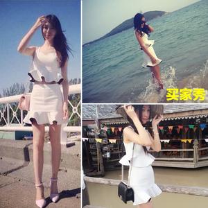 2018新款裙子泰国潮牌连衣裙女装性感夜店夏女夜场套装两件套夏装