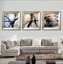 饰画赵无极客厅卧室书房画现代抽象简约油画 创美艺术纯手绘家居装