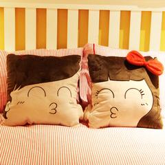 情侣抱枕 创意新年结婚生日礼物实用婚庆礼品压床娃娃 男送女生