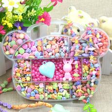小孩子青少年大童串珠玩具益智宝宝女孩生日礼物5-6-7-8-9-10岁12