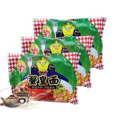 童年怀旧零食幸运方便面干吃 蟹皇面 蟹黄面 儿时零食食品小吃