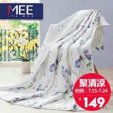 【梦洁官方直营】Mee觅夏凉被全棉空调被子双人空调被正品 花溪