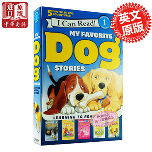 【中商原版】i can read 1我喜爱的狗狗故事 英文原版 My Favorite Dog