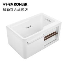 希尔维1.3米1.5米1.7米整体化浴缸 压克力浴缸 带排水