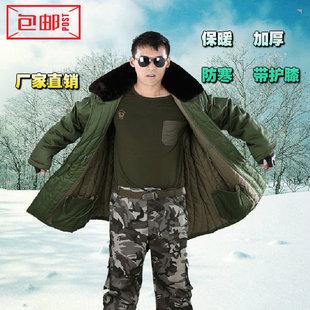 士兵军大衣棉大衣男式短款防寒大衣冷库劳保大衣带护膝
