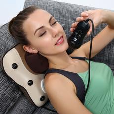 颈椎理疗仪 自然曲度颈椎病按摩器家用枕头理