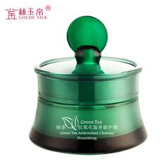 金丝玉帛绿茶抗氧化修护面霜50g 平衡控油 补水致肌肤 美白收毛孔
