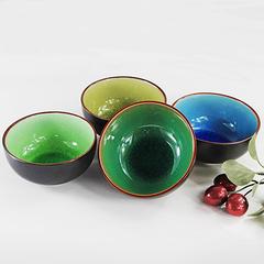 陶瓷碗 新款陶瓷餐具泡面碗 创意大饭碗 冰裂釉饭碗 礼品碗 包邮