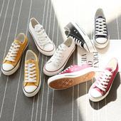 环球帆布鞋女百搭小白球鞋学生板鞋2018新款韩版原宿ulzzang布鞋