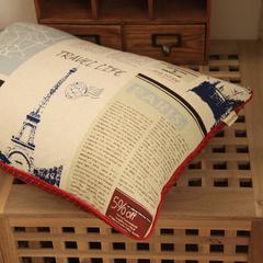 韩式 棉麻 卡通动漫婚庆抱枕套 靠垫套 靠枕套 靠包 梦巴黎系列