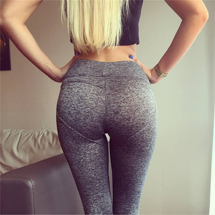 High Waist Push Up Leggings Fitness Women Sexy elastic Pants