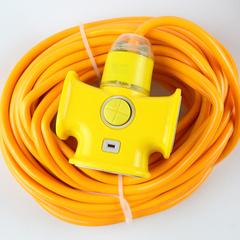 室外插座家用插排电动车充电源延长线接线板10/15/20米排插板带线