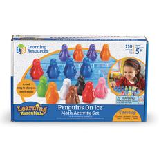 海外正品现货包邮幼儿童宝宝多彩企鹅计算数学进口玩具礼物套装