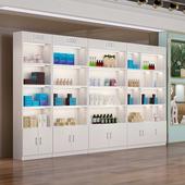 化妆品展示柜美容美发店护肤品展柜陈列柜美甲店货柜展架超市货架