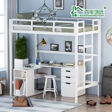 加厚成人0.9米1.2米高架床铁床铁艺床组合床员工宿舍床学生公寓床