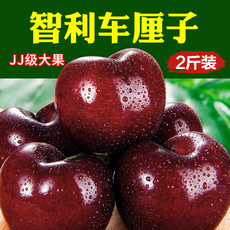 新鲜水果 智利进口车厘子 黑车大樱桃 jj级2斤装现货顺丰空运