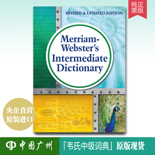 【中图原版】英文原版 Merriam-Webster's Intermediate Dictionary 韦氏中级词典  9780877796978