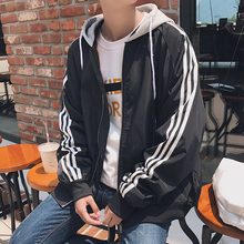 Outerwear Men's Spring Fashion Recreational Sports Couple's School Uniform Class Uniform Korean Edition Fashion Youth 2019 New Student Jacket