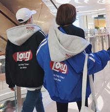 情侣冬季棉衣宽松原宿风bf面包服女学生短款2017新款韩版冬装外套