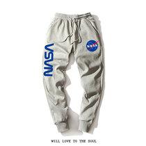 小脚卫裤 美国宇航天局NASA标志春秋休闲裤 长裤 薄款 运动束脚裤 男女