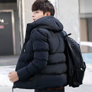 棉衣男2018新品冬季青年韩版潮流羽绒棉服加厚棉袄秋冬季男士棉衣