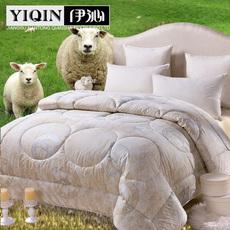 【伊沁】澳洲羊毛被加厚保暖冬被 单双人被子被芯冬天被子特价
