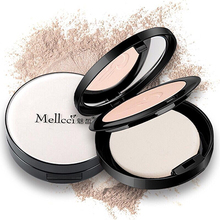 Charming white silk slippery powder, durable makeup, concealer, oil control, natural and dry use.