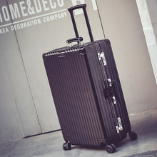 Pull rod box, universal wheel, aluminum frame travel box 26/28 inch men and women luggage luggage 20 boarding box password hard box
