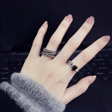 Nethong Xiaozhong Design Bounty Ring Female Silver Fashion Individuality Ins Tide Index Finger Cold Wind Korean Edition Adjustable