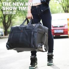拉杆包男大容量行李包女登机拉杆箱旅行袋旅行包手提旅游包托运包