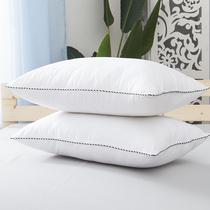 单个成人枕头枕芯护颈学生纯白色凉枕一只装 LLANCL 朗绮国际新品