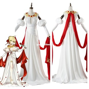 Fate Grand Order Saber Nero Claudius Dress Cosplay Costume