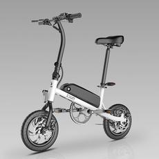 迷你折叠电动自行车智能助力电动车成人代步电瓶车女性锂电小
