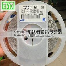 贴片电容 CL21F105ZBNC 0805 105Z 1UF 50V 整盘80元 正品