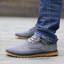 舒适防滑休闲运动鞋 帆布鞋 花布潮鞋 坦锐夏季简约时尚 流行百搭男鞋