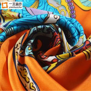 高档桑蚕丝丝巾夏季欧美新款真丝大方巾女士杭州苏州丝绸披肩围巾真丝大方巾