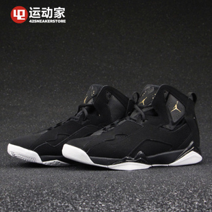 【42运动家】Air Jordan True Flight AJ7加强黑金342964-026 027