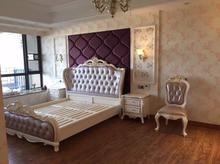守敬泊蟠2人住宅家具大师设计法式床类雕刻新古典 美升娜