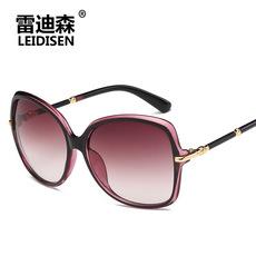 墨镜中年女士大框防晒太阳镜2017新款时尚开车出游遮阳镜防紫外线