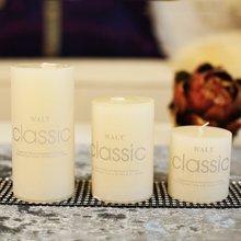 饰品 家居样板房蜡烛象牙白圆柱蜡烛 浪漫求婚表白蜡烛装