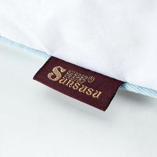 暖舒舒五星级酒店枕头鸭绒羽绒枕芯羽绒枕颈椎记忆枕护颈枕头枕芯