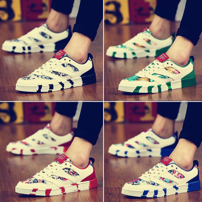 夏季新款小白鞋帆布鞋运动休闲男鞋子老北京布鞋学生韩版潮流板鞋