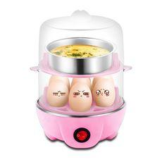 多功能早餐神器迷你电锅煮蛋器小电煎锅自动断电蒸蛋器机