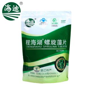 海迪(保健品) 程海湖R螺旋藻片 0.25g/片*2000片 免疫调节正品