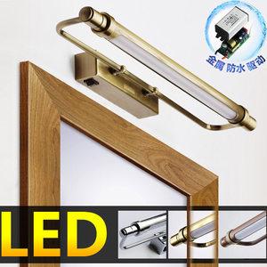美式LED <span class=H>镜前灯</span>卫生间镜灯创意中式卫浴镜子灯浴室镜灯北欧厕所灯