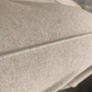 竖裤线高性价比松紧腰加厚羊毛呢秋冬女装休闲裤通勤裤黑