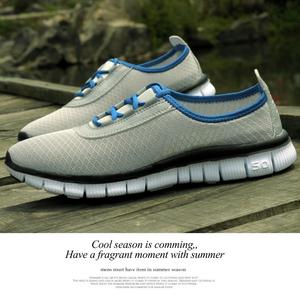 天天特价夏季<span class=H>男鞋</span>子休闲透气镂空洞洞运动鞋网面鞋45码潮流百搭款