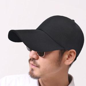 加长11CM帽檐<span class=H>棒球帽</span>子长帽舌纯黑色男女款运动休闲百搭遮阳鸭舌帽
