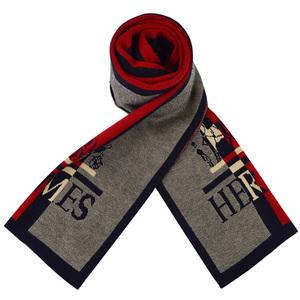特价冬季男士羊毛<span class=H>围巾</span>韩版潮男商务青年学生厚长款保暖围脖礼盒装
