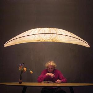 海洋布艺个性简约现代楼梯餐厅客厅书房吧台楼梯茶室艺术创意吊灯